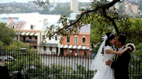Gia Dan Ta and LiYan Cinematic HD Wedding Video